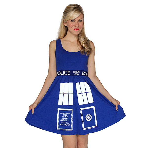 doctor who tardis dress